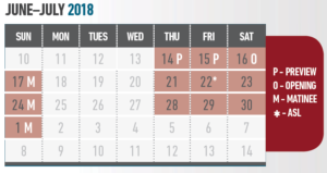 Secretaries calendar
