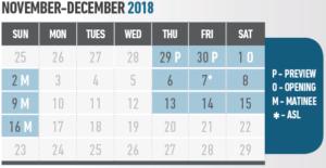 WAKE calendar
