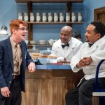 Sam Benedict as Hally, Garfield Wedderburn as Willie and Bobby Bermea as Sam; Jamie Bosworth Photographer