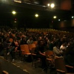 The audience at Wilson High School during our 2014 tour of Sam Shepard One Acts