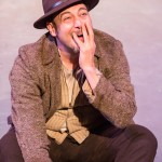 "Andres Alcala in ""Cowboys #2"" in Profile Theatre's FESTIVAL OF ONE ACTS running September 3-8, 2014. Photo by David Kinder."