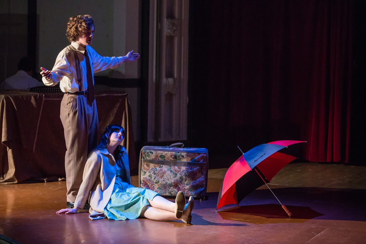 Students from the Metropolitan Learning Center Perform EURYDICE