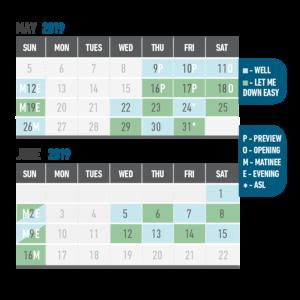 LMDE Well Calendar