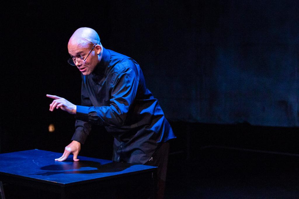 Aaron M Bernstein. Fires in the Mirror at Profile Theatre.