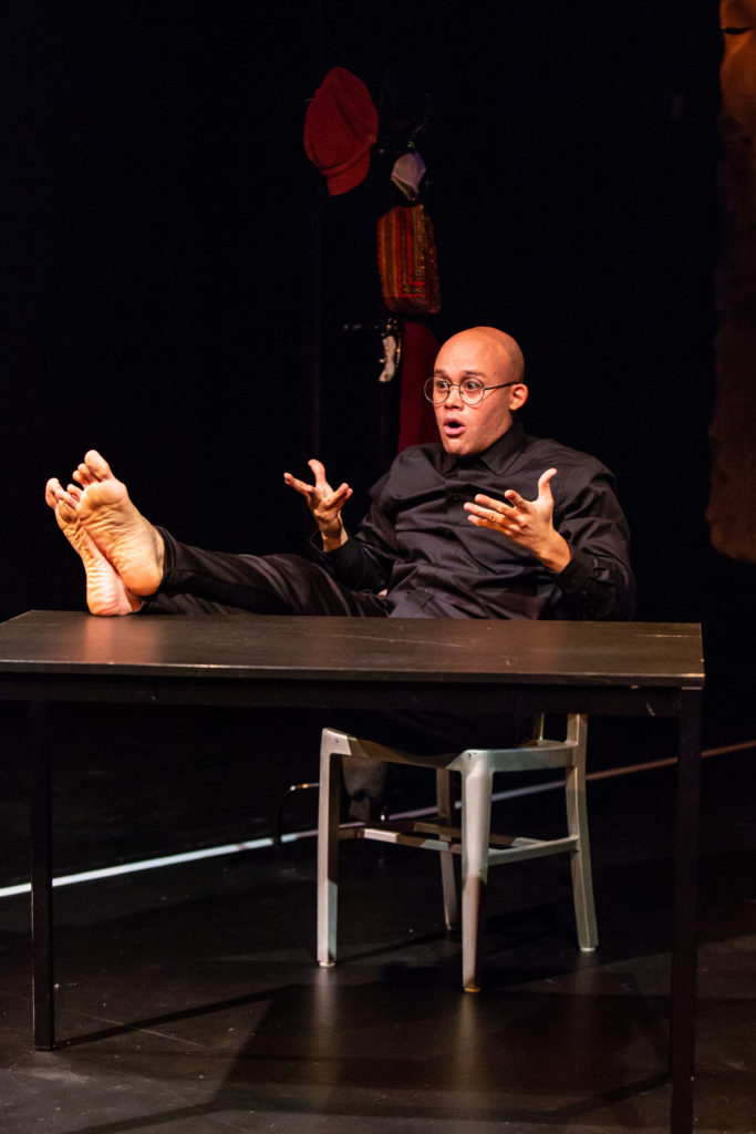 George C. Wolfe. Fires in the Mirror at Profile Theatre.