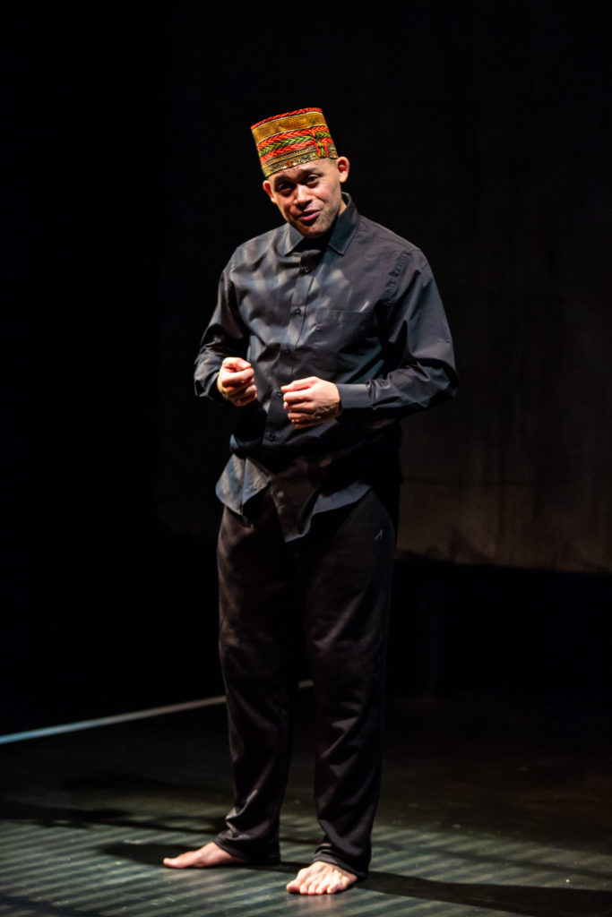 Leonard Jeffries. Fires in the Mirror at Profile Theatre.