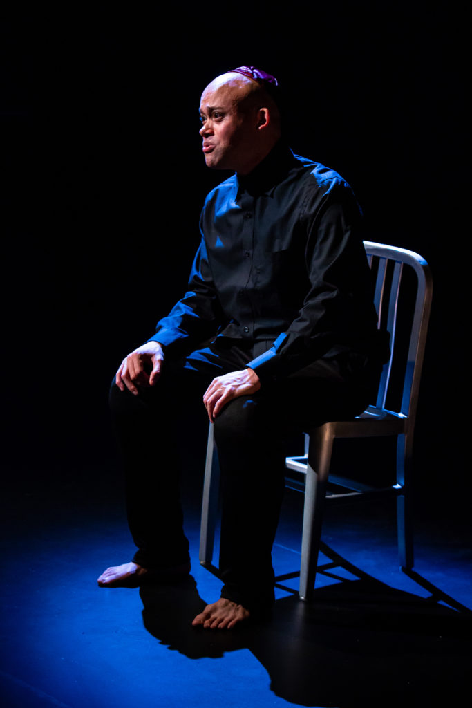 Michael S Miller. Fires in the Mirror at Profile Theatre.