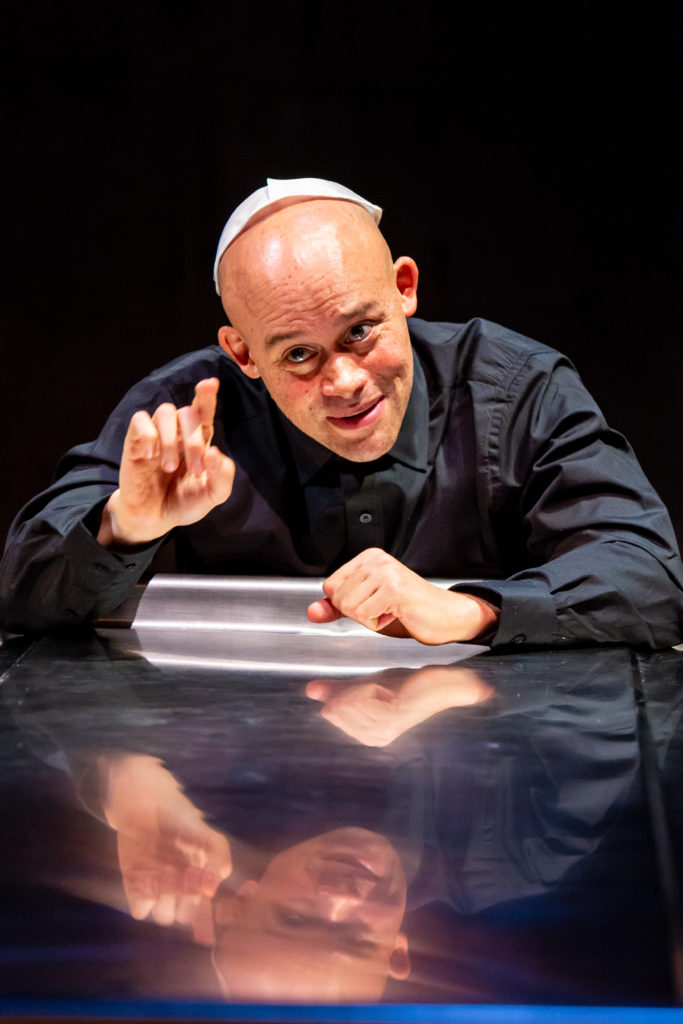 Rabbi Shea Hecht. Fires in the Mirror at Profile Theatre.