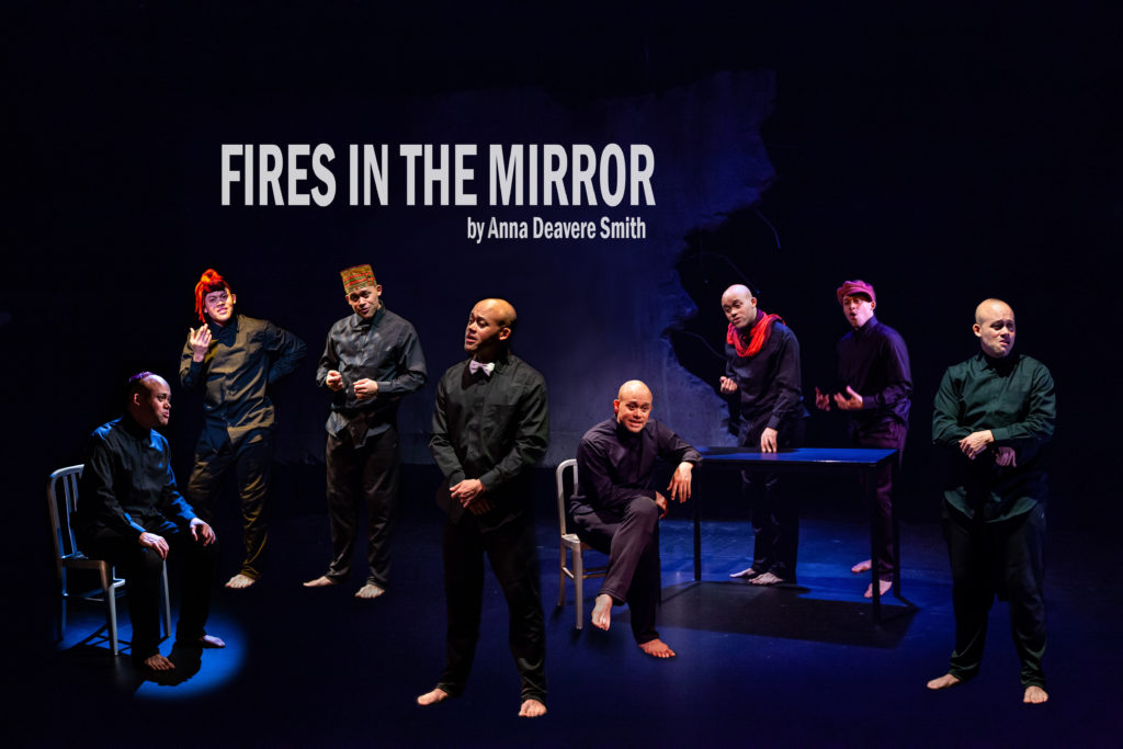 Fires in the Mirror at Profile Theatre.